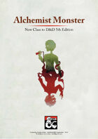 Alchemist Monster - New class for D&D 5th Edition