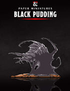 Black Pudding Paper Miniature