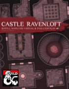Castle Ravenloft Battle Maps