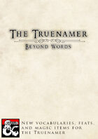 The Truenamer - Beyond Words