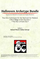 [5e] Halloween Archetype Bundle- Dragon Ink