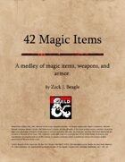 42 Magic Items