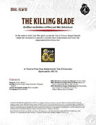 DDAL-ELW10 The Killing Blade