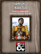Champions of Kara-Tur: Imperial Dragon Knight