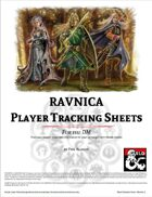 Ravnica Player Tracking Sheets