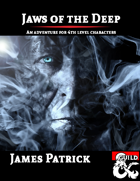 Book Cover - Jaws of the Deep