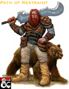 Barbarian Path of Restraint (5e)