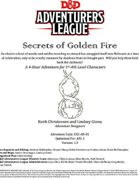 CCC-AN-01 Secrets of Golden Fire