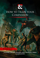 How To Train Your Companion (5e)