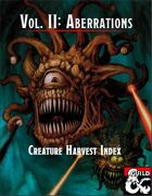 Creature Harvest Index - Aberrations