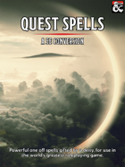 Quest Spells - 5e Conversion