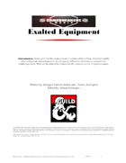 Exalted Equipment