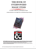 The book of Edgy Magic Items