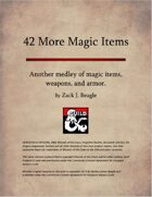 42 More Magic Items