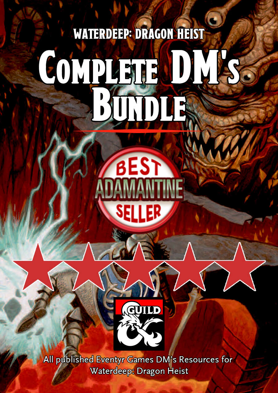 Complete DM's Bundle for Waterdeep: Dragon Heist