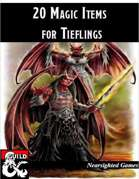 20 Magic Items for Tieflings