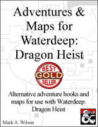 Waterdeep: Dragon Heist Maps (VTTs or Print)