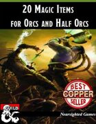 20 Magic Items for Orcs and Half-Orcs