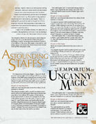 The Emporium of Uncanny Magic — Astounding Staffs