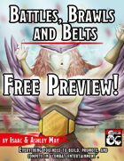 Battles, Brawls & Belts FREE PREVIEW