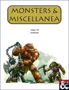 Monsters & Miscellanea 1-05