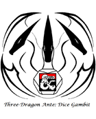 Arclords Three-Dragon Ante: Dice Gambit