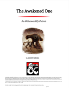 The Awakened One: An Otherworldly Patron for D&D 5th Edition