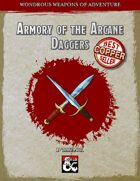 Armory of the Arcane: Daggers