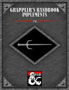 Grappler's Handbook Implement Sai