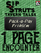 Pack-A-Day Problem: A 1-Page Encounter