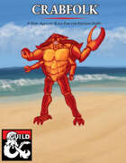 Crabmen 5E Player Race