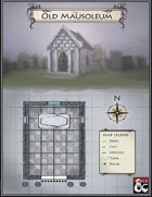 The Old Mausoleum - Fantasy Map