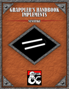 Grappler's Handbook Implement Nunchaku