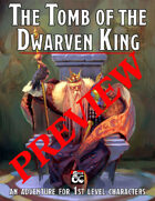[Preview] The Tomb of the Dwarven King