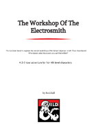 The Workshop Of The Electrosmith