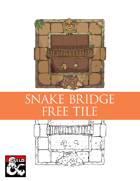 Snake Temple Bridge (5x5 Tile)  Dungeon Squares