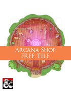 Arcana Shop (5x5 Tile) Dungeon Squares