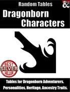 Dragonborn Characters: Table Rolls