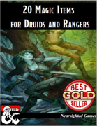 20 Magic Items for Druids and Rangers