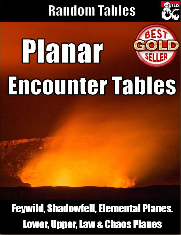 Planar Encounter Tables - Random Encounters