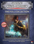 """Sarayath's Magical Item Compendium - I & II""  [BUNDLE]"