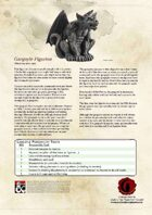 Gargoyle Figurine - New Magic Item