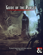 Guide of the Purged