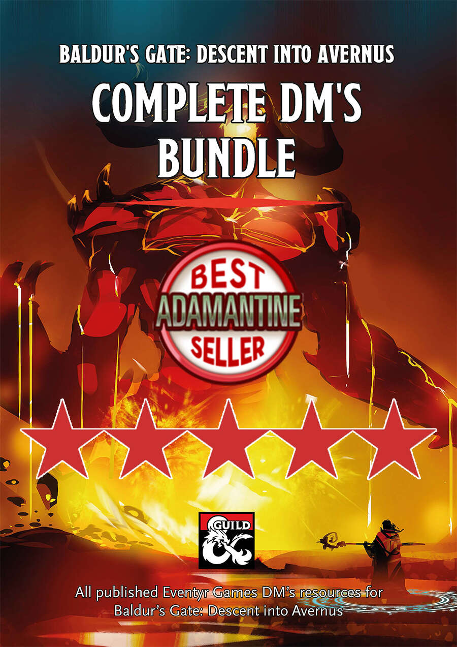 Complete DM's Bundle for Baldur's Gate: Descent into Avernus
