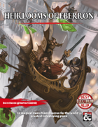 Heirlooms of Eberron - 50 Magical Items From the Last War