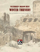 Waterdeep: Dragon Heist - Winter Thievery