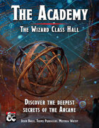 The Academy: The Wizard Class Hall