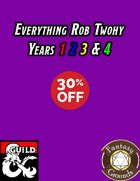 Everything Rob Twohy Years 1 2 3 & 4 [BUNDLE]