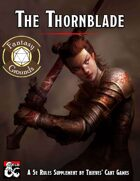 Warlock Patron: The Thornblade (Fantasy Grounds)