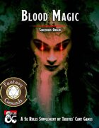Sorcerous Origin: Blood Magic (Fantasy Grounds)